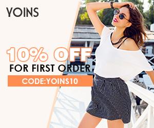 Shop your next fashion needs at Yoins.com