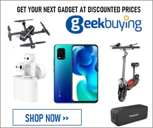 Find the gadget that you love at Geekbuying.com
